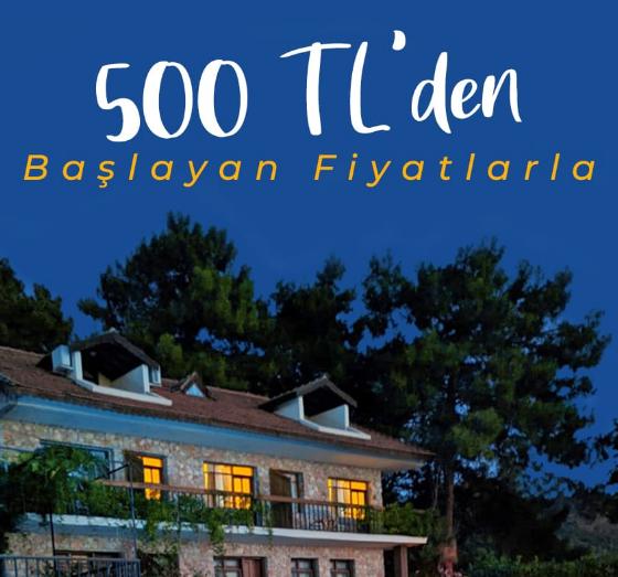 Kampanyalı Otel - 500 TL'den başlıyor!